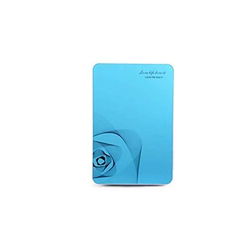 Sebasty Wawa Coche Pequeño Refrigerador 42 * 27 * 33 Cm 20L Portátil Familia Compartida Mini Camping/Outdoor/Turismo Individual Refrigerador De Tres Puertas (Color : Blue)