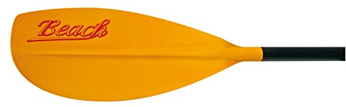 BIC Paddle Beach 215 - Remo para Kayak, Color Naranja/Negro, 215 cm
