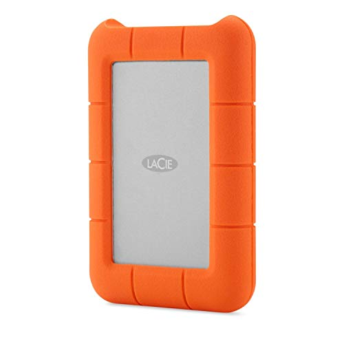 LaCie Rugged Raid - 4 To, disque dur externe mobile (1x USB 3.0, 1x Thunderbolt) - STFA4000400