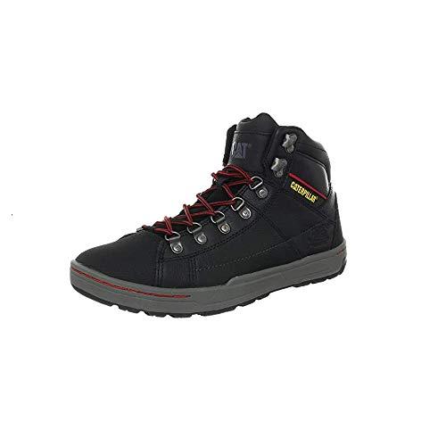 Calzado de Seguridad Caterpillar Brode Dark Shadow • Botas y Calzado de Seguridad Marca Carterpillar • Color del Calzado: Negro • Talla 40 EU