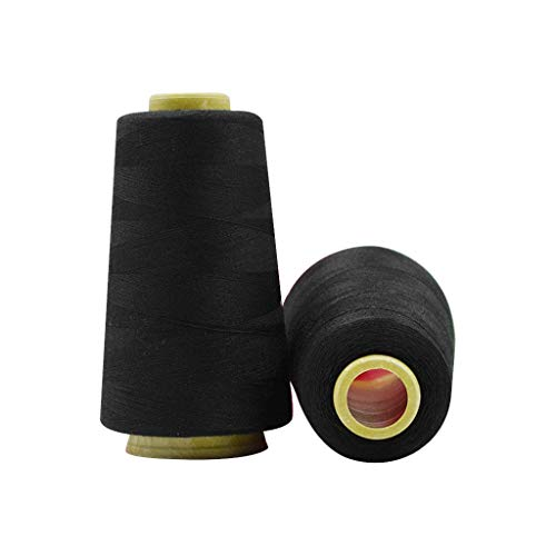 Read About Black and White Sewing Thread - Black and White Sewing Threads 3000yards Per Spools for H...