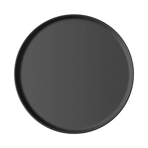Villeroy & Boch - Iconic Universalteller, vielseitig einsetzbarer Speiseteller aus Premium Porzellan, spülmaschinengeeignet, schwarz