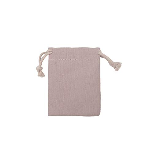 Caja de jabón 7x9 9x12 10x15 13x18 Embalaje de jabón natural Bolsa Jewelly Algodón Bolsas de lona de color caramelo Color Sachet 10pcs / Lotcan Logo personalizado caja de jabón autodrenante