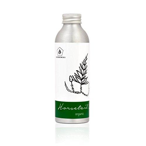 Herbowski - Olio di equiseto biologico, triplice infuso per la cura dei capelli e delle unghie, 160 ml