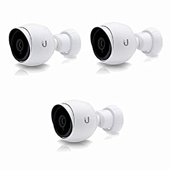 Unifi Bullet Camera G3 Series UVC-G3-BULLET-3 1080p Outdoor IP Bullet Camera with Infrared  3-Pack