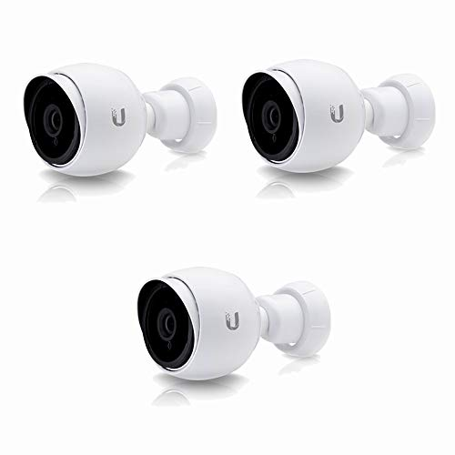 Unifi Bullet Camera G3 Series UVC-G3-BULLET-3 1080p Outdoor IP Bullet Camera with Infrared (3-Pack)