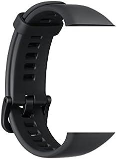 سوار ساعة ذكية سيليكون لتبديل سوار هواوي هونر باند 6 باللون الاسود