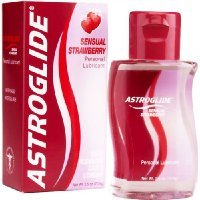 Astroglide Personal Lubricant, Sensual Strawberry, 2.5-Ounce Bottles (Pack of 2)