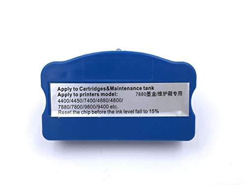 100% Nuevo Nuevo reseteador de Chip de Tanque de Tinta Residual para Epson Stylus Pro 4400 4450 7400 9400 4800 4880 7800 7880 9800
