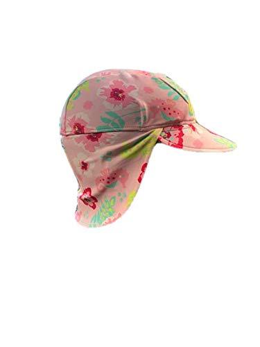 Banz UV Flap S19fhpfl Chapeau, Mélange Floral Rose, Large Mixte bébé