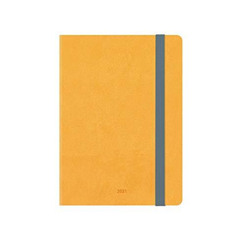 Legami - Agenda Settimanale 18 Mesi 2020/2021 Small, con Notebook, Yellow