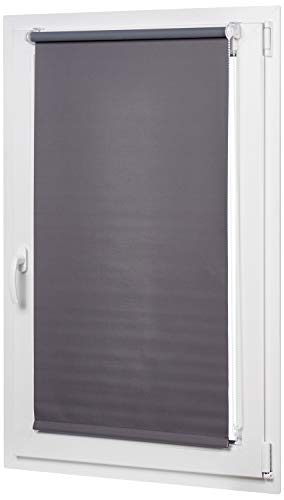 Amazon Basics curtain, Gris oscuro, 66 x 150 cm