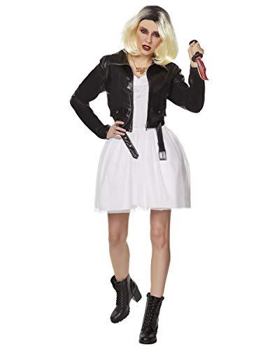 Spirit Halloween Bride of Chucky Adult Tiffany Costume