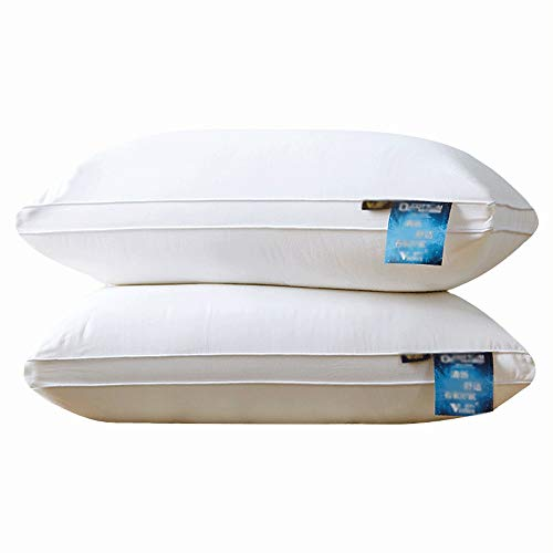 Nologo YY-JJ Applicable Adults Home Premium Breathable Sleeping Soft Pillows Memory Feature With Effectively Relieves Neck Pain,Best Sleeping Pillow,pillow (Size : Style High)