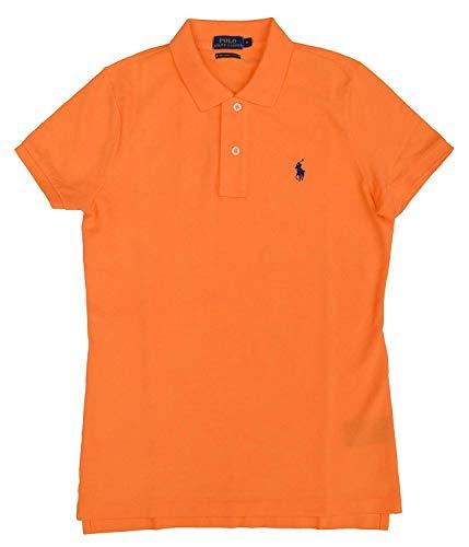 Ralph Lauren Polo Skinny Camisa de Polo T.M, Naranja