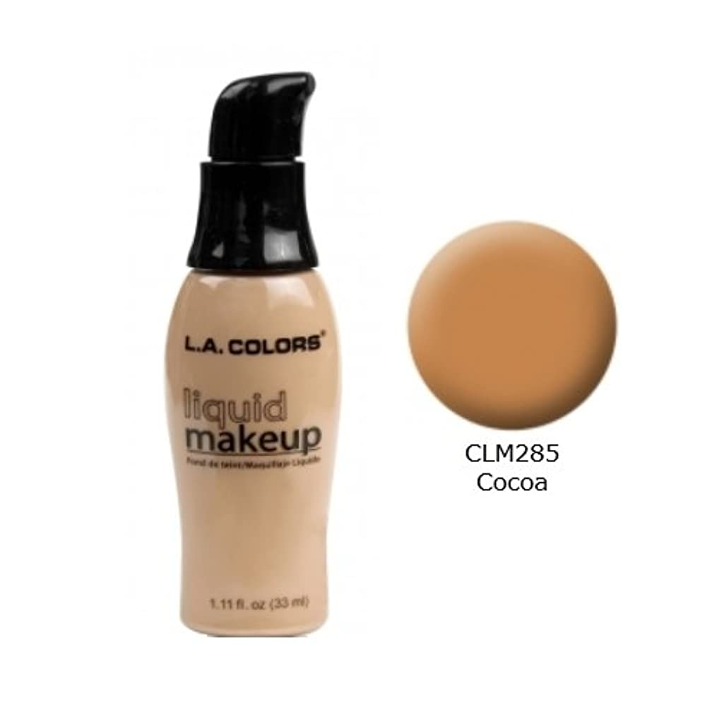 (3 Pack) LA COLORS Liquid Makeup - Cocoa (並行輸入品)