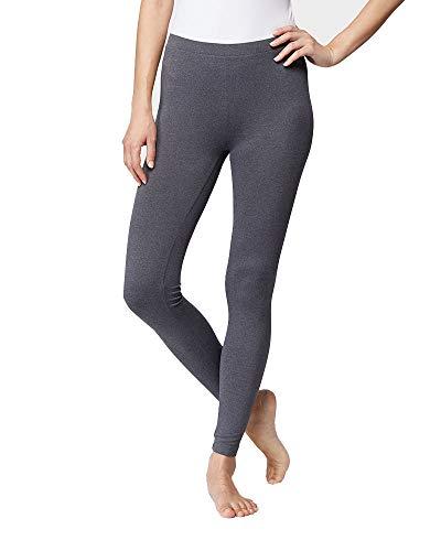 32 DEGREES Womens Cozy Heat Baselayer Comfy Lounge Pajama Legging, Ht Charcoal, XLarge