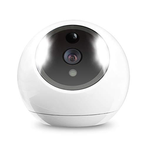 Amaryllo Atom2 Überwachungskamera Security Roboter-Kamera iCam FHD weiß