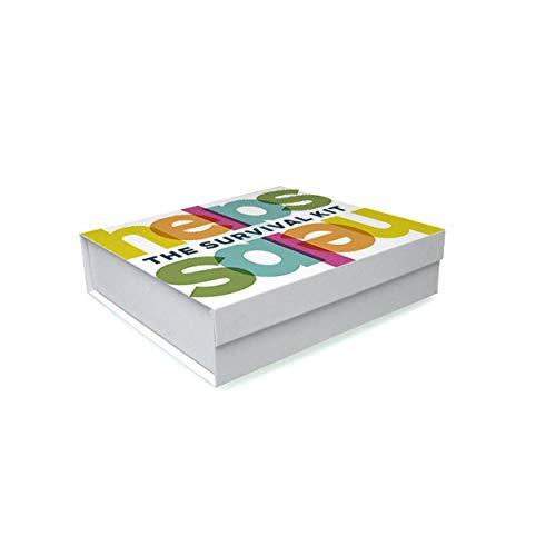 HELPS INFUSIONES - Caja regalo. Kit de Super-Vivencia. Infusiones Ecológicas y Funcionales