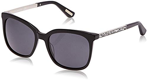 Guess Damen GM0756-5401A Sonnenbrille, Schwarz (Negro), 54.0
