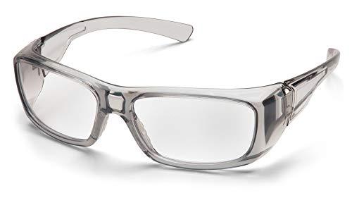 Pyramex Safety SG7910D20 Emerge Safety Glasses with Reader Lenses Option,Gray Frame