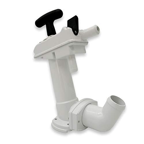 Nuova Rade Handpumpe Bootstoilette Bordtoilette Toilette WC Seetoilette Pumpe Abwassersystem Schiffstoilette