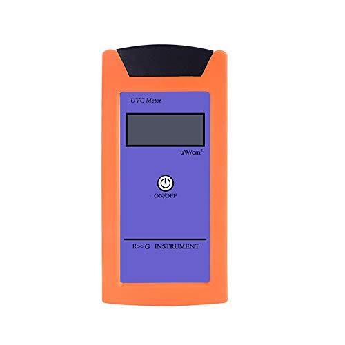 VISLONE Rettile RGM-UVC con misuratore di radiazione UV Misuratori di irraggiamento ultravioletto Misuratore di illuminamento UV ad alta precisione Strumento di misurazione della luminosità UVC
