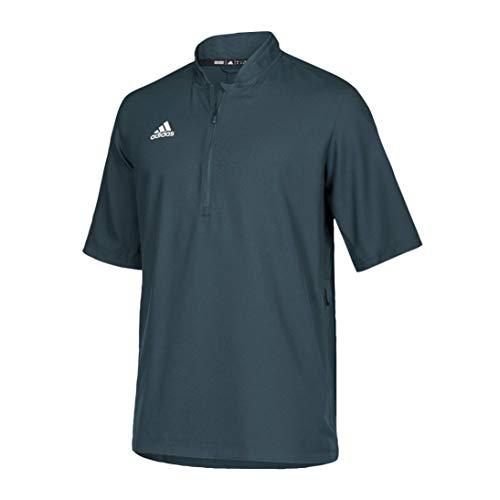 adidas Team Iconic Short Sleeve QuarterZip Polo Men's Multisport