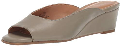 Aerosoles Women's Magnet Sandal, LT Green Leathe, 5.5 M US