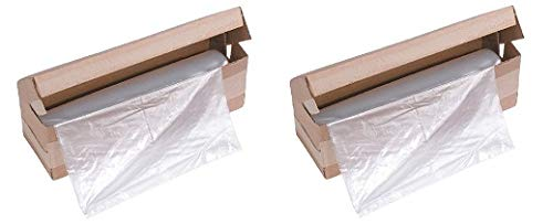 Review HSM 2523 Shredder Bags, 96 Gallon Capacity, Size 25 x 23 x 45 Inches (2-(Pack))