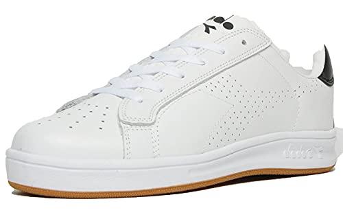 Diadora Martin Sportschuhe für Herren, Weiß - C1880 Bianco Bianco Nero - Größe: 45 EU
