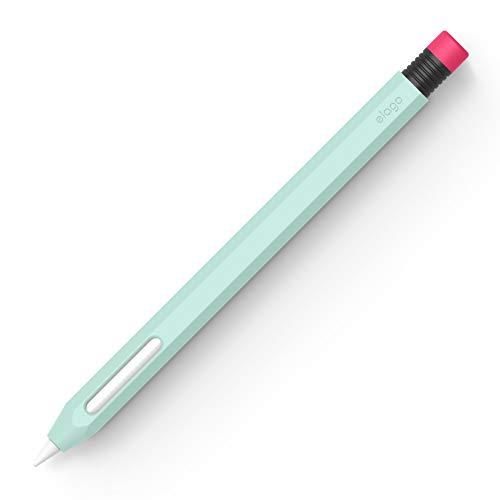 elago Classic - Funda Compatible con Apple Pencil 2ª generación, Silicona Duradera, diseño clásico, Compatible con Carga magnética (Menta)