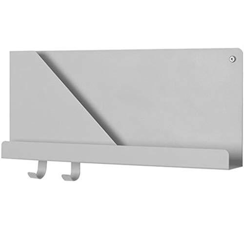WXQIANG Estante de pared para colgar en la pared, dormitorio, sala de estar, estudio, televisión, fondo creativo, partición de pared duradera y protectora (color: A, tamaño: 50 x 6,9 x 22 cm)