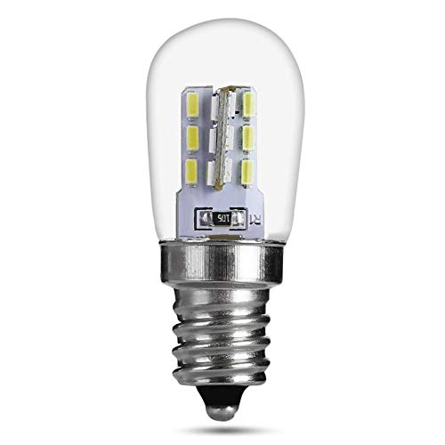 mementoy Kühlschranklampe E12 LED Lampen, 1 Stück Backofenlampe led, 2 W Mikrowelle Energiesparende Licht, Warmes Licht/Weißes Licht