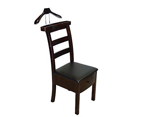 - Proman Manhattan Chair Valet - Dark Walnut
