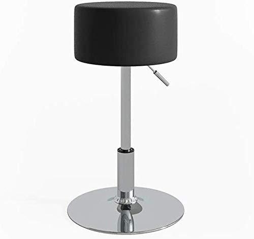 Vicco Design Hocker/Schminkhocker stufenlos höhenverstellbar mit Antirutsch-Sitzbezug aus Kunstleder und verchromten...