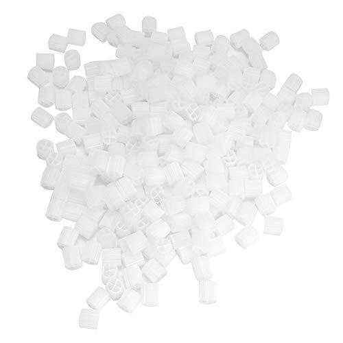 Hffheer 500 ml Aquarium Kunststoff Biochemische Ball Aquarium Filtermedien Nitrifizierende Bakterien Biosphäre Aquarium Filter mit Reinigung Mesh Tasche