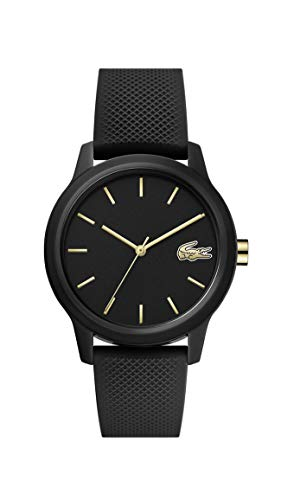 Lacoste Womens Analogue Classic Quartz Watch with Silicone...