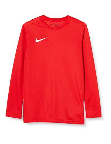Nike Kinder Y NK Dry Park VII JSY LS Long Sleeved T-Shirt, University red/White, XL