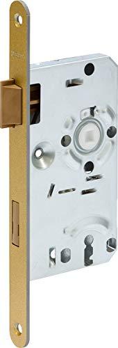 ABUS 61674 ES BB R G 55 72 20 Einsteckschloss, Gold, 20mm
