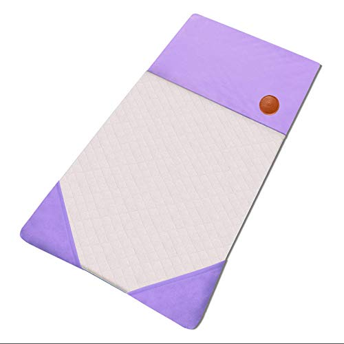 GOSMOO MKT Small Animals Guinea Pig Reusable Pee Pad Bed House Warm Hedgehog Rabbit Bedding Waterproof Puppy Training Pad Fleece Cage Liners with 3 Pocket Hideout
