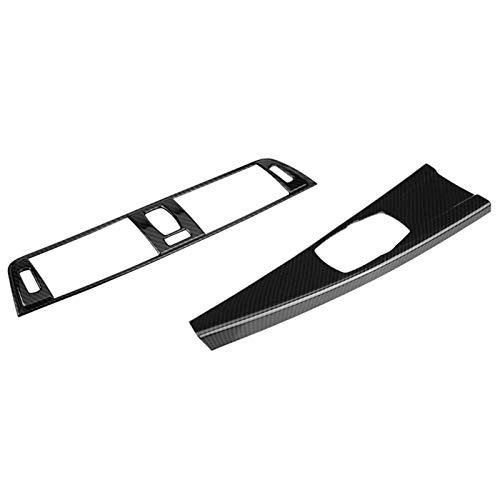 ZIHAN Feil Store Cubierta de ventilación de Aire de la Consola Ajuste para BMW 3 Series F30 2013-2018 y Recorte de Cubierta de Panel Multimedia de Coche