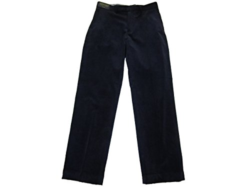 Ralph Lauren Polo Golf Mens Links Fit Flat Front Corduroy Pants (32x32, French Navy)