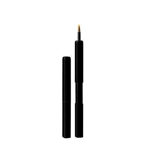 Pinceau à lèvres Rouge à lèvres télescopique Portable Confortable Brosse Pinceau de Maquillage Profession Débutant Noir antipoussière