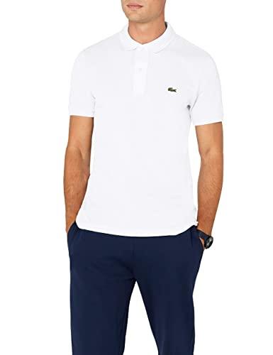 Lacoste Herren Polo T-shirt Ph4012, Weiß (Blanc), X-Large (Herstellergröße: 6)