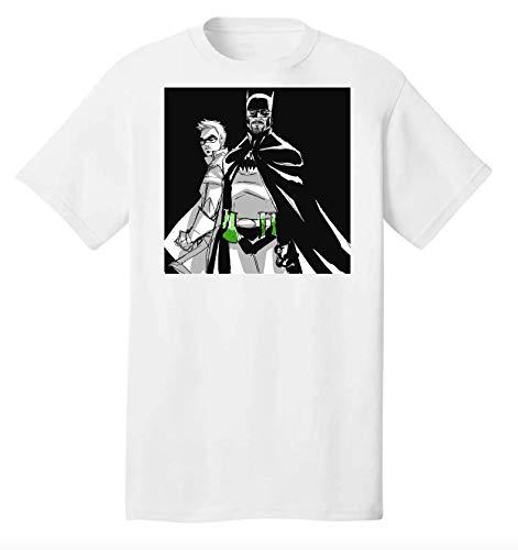 Breaking Bad Batman Characters T-Shirt Graphique pour Hommes 2-Extra Large