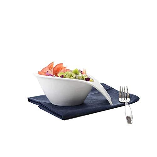 Home big Wrist kommen van keramiek Europese melkwit hotel keramische servies dessert Casalingo Frutta snack kom voor horeca restaurant keuken decoratie retro de