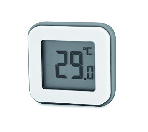 Termómetro habitaciones de la casa - termómetro dentro de la casa - termómetro de interior - Termómetro interior DigiThermo Imán Digital - HCN0048 SCS Sentinel, blanco