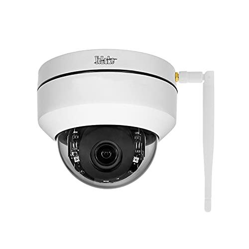 PTZ WiFi IP Kamera 5MP HD Dome Überwachungskameras 4X optische Zoom,Smart 265 Home Security Kamera für drinnen und draußen, IP66 wasserdicht eingebauter SD-Kartenschlitz …