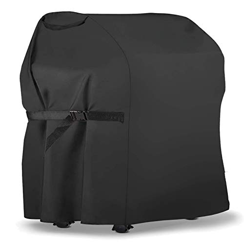 PATIOPTION BBQ Grill Cover 30inch Outdoor Barbecue Cover Gas Grill Cover 600D Waterproof Charbroil Grill Cover for Weber, Char Broil, Holland, Jenn...